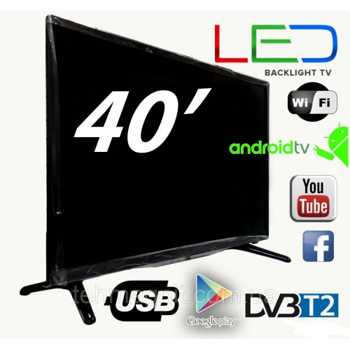 Телевизор SMART L42 Full HD 40Smart TVWi-FiUSBDVB-T2