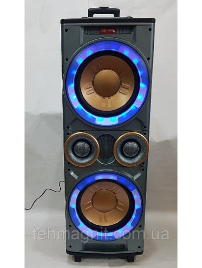 Колонка активная Rainberg RB-555 X-BASS 300600WUSBFMBluetooth