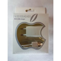 Зарядка для iPhone 3G3GS4G4S iPad 23 iPod mini usb charger